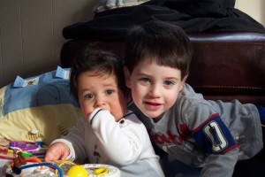 Baby Charlie and Ethan 2006