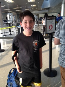 Ethan airport August 2014