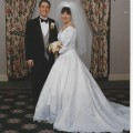 Meg and John wedding 1999