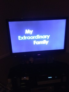 My Extraordinary family-main title