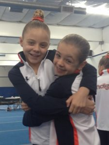 Savanna and Madison 2016 gymnastics
