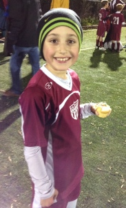 Soccer undefeated Nov 2014